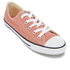 Converse Women's Chuck Taylor All Star Dainty Ox Trainers - Pink Blush/Black/White: Image 2