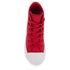 Converse Kids Chuck Taylor All Star II Tencel Canvas Hi-Top Trainers - Salsa Red/White/Navy: Image 3