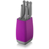 Morphy Richards 971264 Chroma 5 Piece Knife Block - Orchid