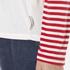 Maison Scotch Women's Long Sleeve Baseball T-Shirt with Cool Artworks - White: Image 6
