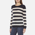 Maison Scotch Women's Striped Crew Neck Jumper - Multi: Image 2