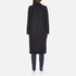 Maison Scotch Women's Longer Length Tailored Coat - Navy: Image 3