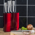 Morphy Richards 974815 Accents 5 Piece Knife Block - Red: Image 4