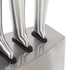 Morphy Richards 974818 Accents 5 Piece Knife Block - Stainless Steel: Image 2
