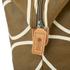 Orla Kiely Women's Linear Stem Print Zip Shopper Bag - Camel: Image 4