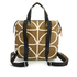 Orla Kiely Women's Linear Stem Print Small Backpack - Camel: Image 7