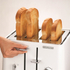 Morphy Richards Aspect Steel 4 Slice Toaster and Kettle Bundle - White: Image 2