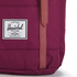 Herschel Supply Co. Retreat Backpack - Windsor Wine/Tan Synthetic Leather: Image 4