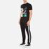 McQ Alexander McQueen Men's Abstract Swallow Short Sleeve Crew T-Shirt - Darkest Black: Image 4