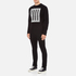 McQ Alexander McQueen Men's Clean Crew Neck Sweatshirt - Darkest Black: Image 4