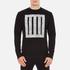McQ Alexander McQueen Men's Clean Crew Neck Sweatshirt - Darkest Black: Image 1