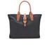 Barbour Women's Wax Shopper Bag - Navy: Image 6