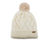 Barbour Women's Fur Pom Beanie - Snow: Image 1