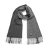 PS by Paul Smith Men's Half and Half Scarf - Grey: Image 1