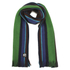 PS by Paul Smith Men's Reversible Stripe Scarf - Navy: Image 1