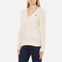 Polo Ralph Lauren Women's Kimberley Cashmere Blend Jumper - Cream: Image 2