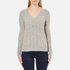 Polo Ralph Lauren Women's Kimberly Cashmere Blend Jumper - Light Vintage Heather: Image 1