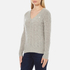 Polo Ralph Lauren Women's Kimberly Cashmere Blend Jumper - Light Vintage Heather: Image 2