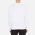 Alexander Wang Men's Barcode Logo Long Sleeve T-Shirt - White: Image 3
