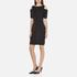 MICHAEL MICHAEL KORS Women's Structured Cut Out Dress - Black: Image 2