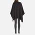 MICHAEL MICHAEL KORS Women's Twill Blanket Poncho - Grey: Image 2