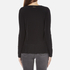 MICHAEL MICHAEL KORS Women's Solid Woven Pleat Top - Black: Image 3