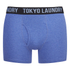 Tokyo Laundry Men's 2-Pack Cairns Boxers - Mid Grey Marl/Cornflower: Image 2