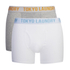 Tokyo Laundry Men's 2-Pack Bryant Boxers - Light Grey Marl/White: Image 1