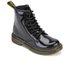 Dr. Martens Kids' Delaney Patent Lamper Leather 8-Eye Lace Up Boots - Black: Image 2