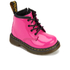 Dr. Martens Toddlers' Brooklee B Patent Lamper Leather Lace Up Boots - Hot Pink: Image 2