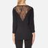Selected Femme Women's Mussa Lace Top - Black: Image 3