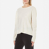 Samsoe & Samsoe Women's Albi O Neck Jumper - Clear Cream: Image 2
