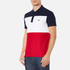Lacoste Men's Short Sleeve Bold Stripe Polo Shirt - Navy Blue/White/Red: Image 2