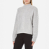 Gestuz Women's Sanni Pullover Grey Cable Knit Jumper - Grey: Image 2