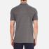 Lacoste L!ve Men's Large Logo Short Sleeve Polo Shirt - Medium Grey/Jaspe White: Image 3