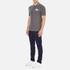 Lacoste L!ve Men's Large Logo Short Sleeve Polo Shirt - Medium Grey/Jaspe White: Image 4