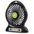 iTek I40001 Rechargeable 4 Inch Desk Fan - Black