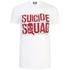 T-Shirt Homme DC Comics Logo Suicide Squad Line Up - Blanc: Image 1
