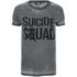 DC Comics Men's Suicide Squad Logo T-Shirt - Grey: Image 1