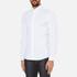 Michael Kors Men's Slim Long Sleeve Shirt - White: Image 2