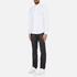 Michael Kors Men's Slim Long Sleeve Shirt - White: Image 4