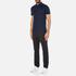 Michael Kors Men's Liquid Cotton Short Sleeve Polo Shirt - Midnight: Image 4
