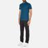Michael Kors Men's Sleek MK Polo Shirt - Pacific Blue: Image 4