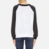 Wildfox Women's Wildfox Academy Kims Top - Clean White/Clean Black: Image 3
