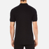 Versace Collection Men's Shoulder Detail Polo Shirt - Nero: Image 3
