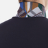 Versace Collection Men's Collar Detail Polo Shirt - Navy: Image 7