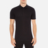 Versace Collection Men's Chest Logo Polo Shirt - Black: Image 1