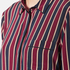 Ganni Women's Donaldson Silk Shirt - Cabernet Stripe: Image 5