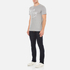 Maison Kitsuné Men's Palais Royal T-Shirt - Grey Melange: Image 4