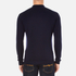 Maison Kitsuné Men's Virgin Wool Polo Shirt - Navy: Image 3